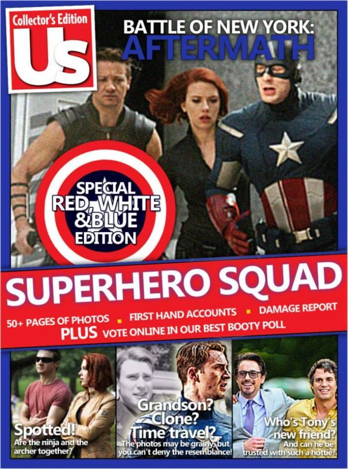 Mediavengers - Us Weekly Avengers