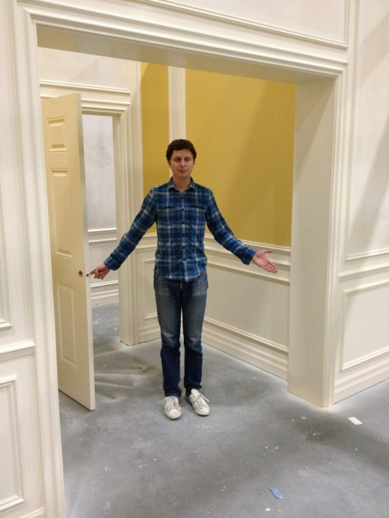 Michael Cera on Arrested Development set 2