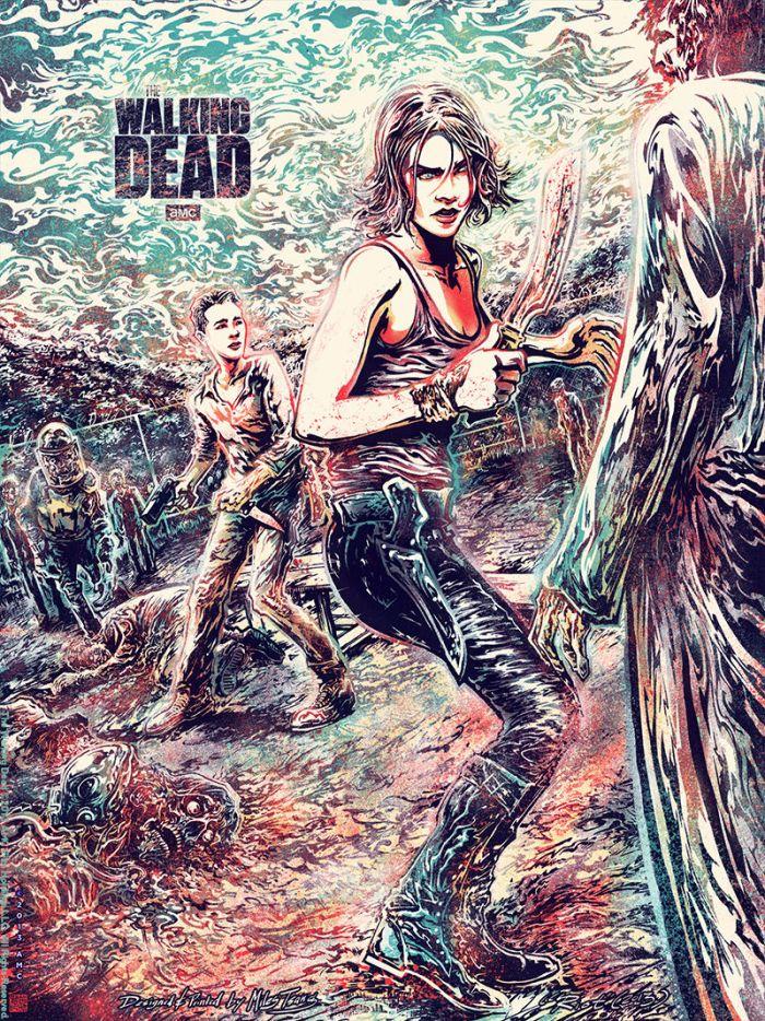 Miles Tsang - Walking Dead