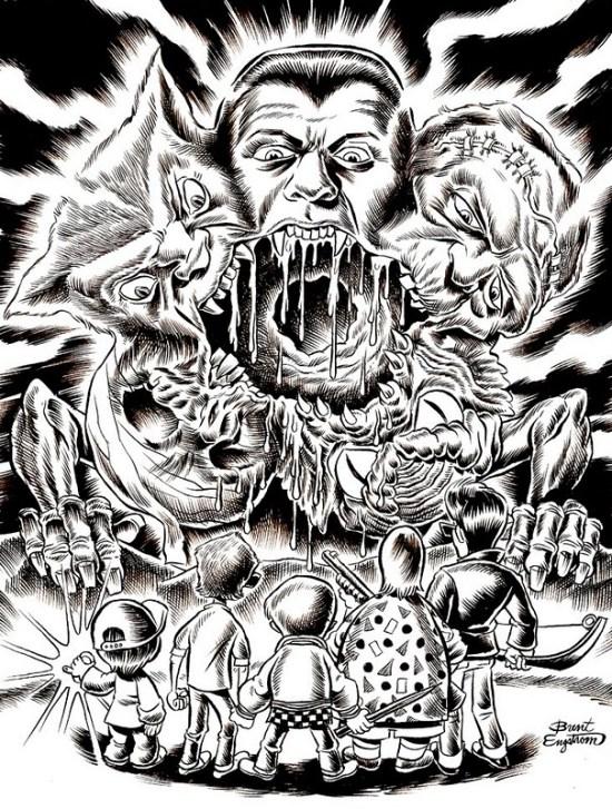 Monster Creeps - Brent Engstrom