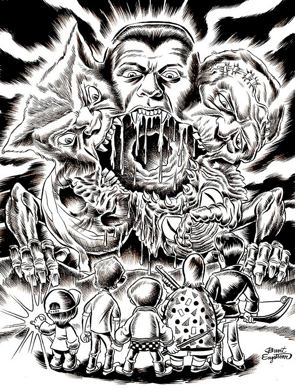 Monster Creeps - Brent Engstrom