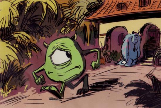Unproduced Monsters, Inc. Sequel 5