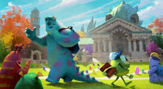 MONSTERS UNIVERSITY Concept Art 1