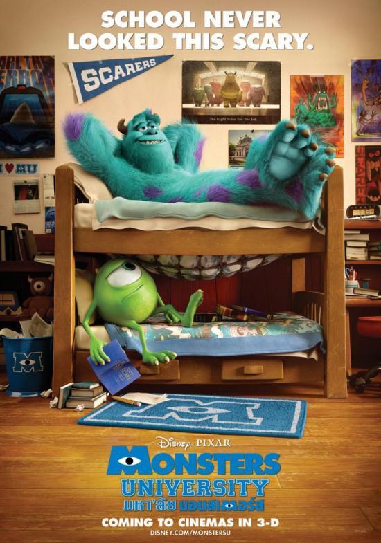 Monsters University International Poster