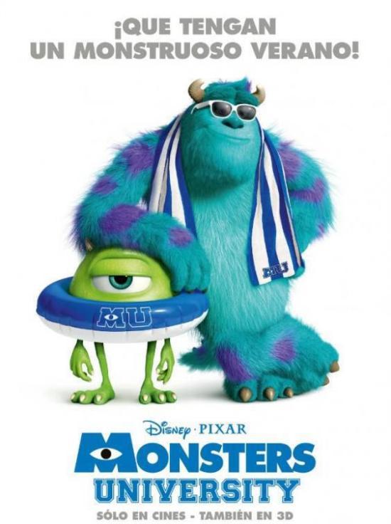 Monsters University - Spanish poster