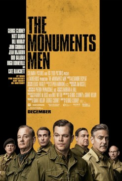 Monuments Men poster