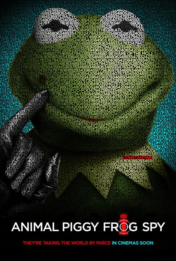 Muppets parody Tinker Tailor Soldier Spy
