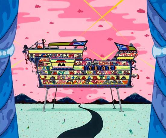Noah art show - Erik Parker