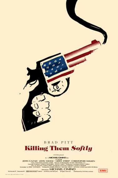 Olly Moss - Killing Them Softly rough
