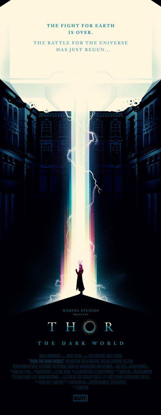 Olly Moss Thor Dark World Loki
