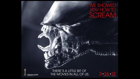 Oscars 2012 Alien