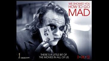 Oscars 2012 Joker