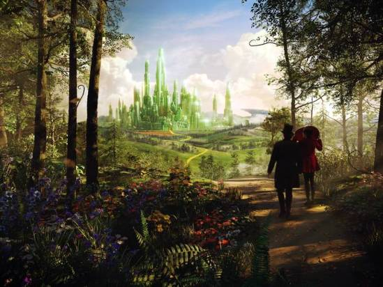 Oz Great and Powerful - emerald