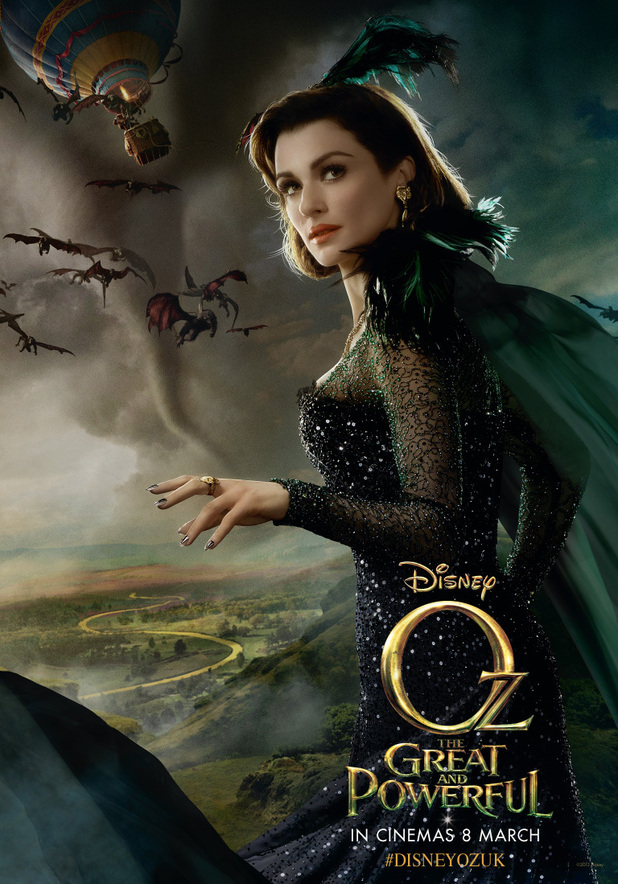 Oz The Great and Powerful - Rachel Weisz as Evanora