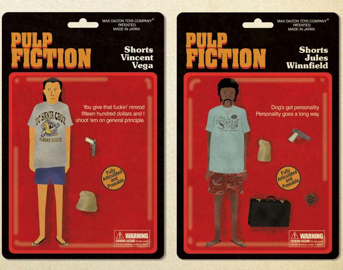 Max Dalton's Pulp Fiction Action Figures 4