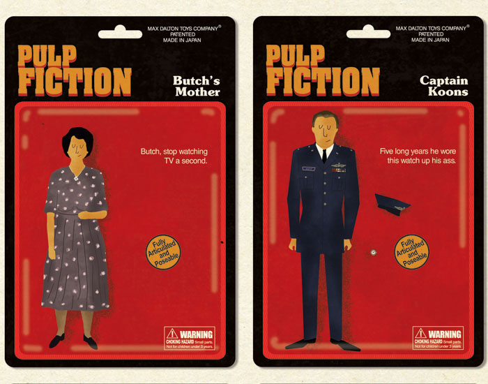 Max Dalton's Pulp Fiction Action Figures 5