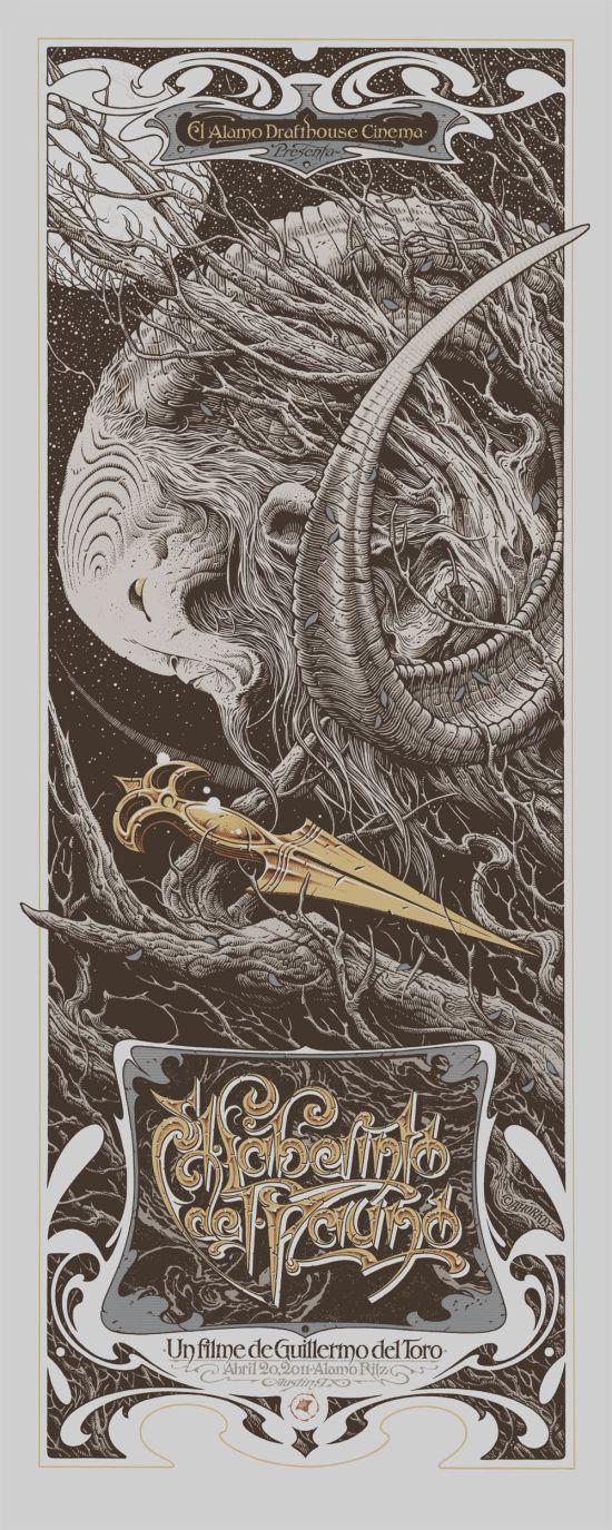 Pan's Labyrinth Variant - Aaron Horkey