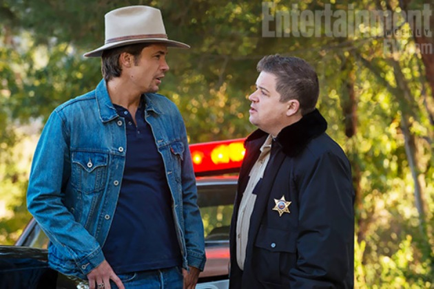 Patton Oswalt on Justified
