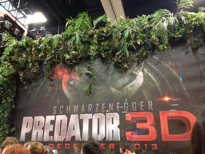 Predator 3D poster