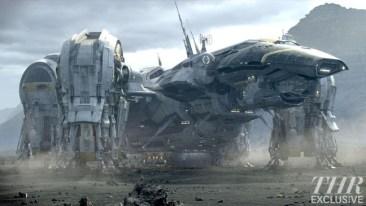 Prometheus still - spaceship