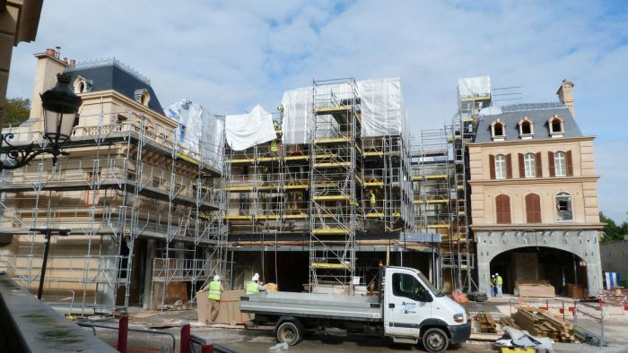 Ratatouillie Construction 1