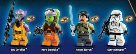 Rebels Close up Legos