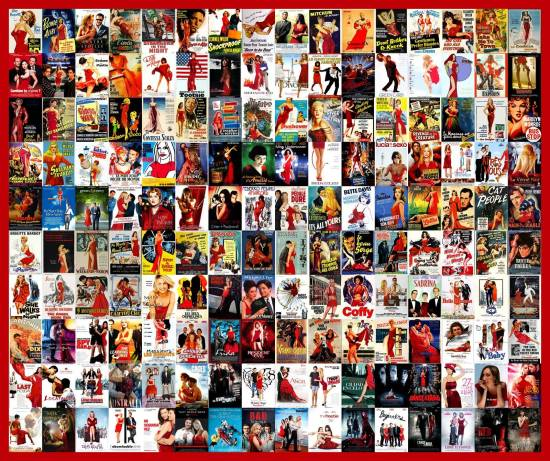 Red Dress Poster Trend