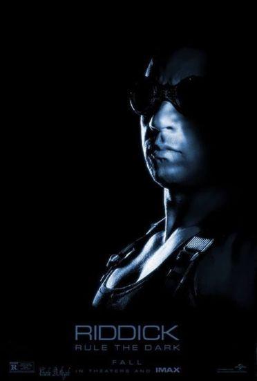 Riddick IMAX poster