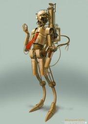Steampunk C-3PO