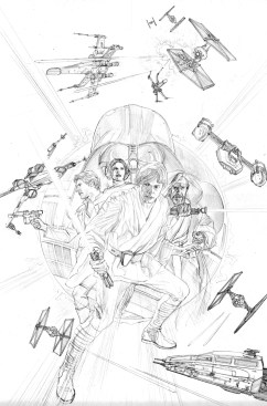 STAR WARS #1 ROSS SKETCH VAR
