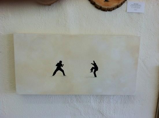 Scott Belcastro inspired by The Karate Kid