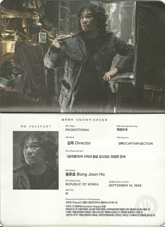 Snowpiercer - Bong Joon Ho