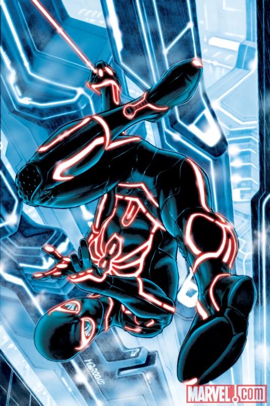 Spider-Man Tron Variant