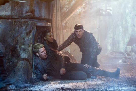 Star Trek Into Darkness - Kirk, Uhura, Spock