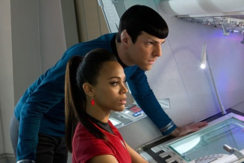 Star Trek Into Darkness - Spock and Uhura