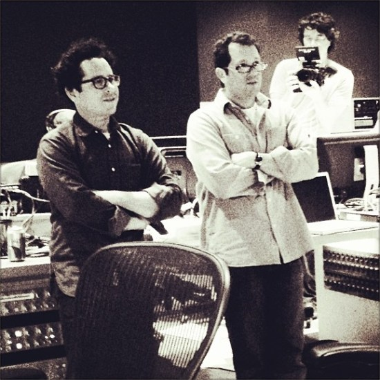 Star Trek Into Darkness scoring session (2)