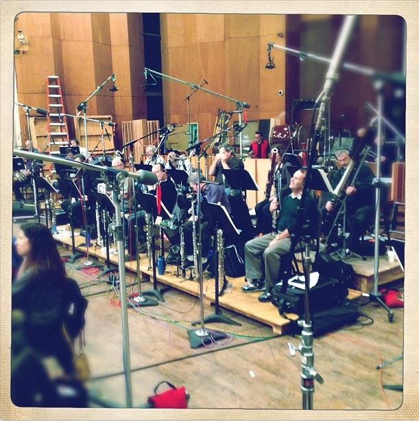 Star Trek Into Darkness scoring session (4)