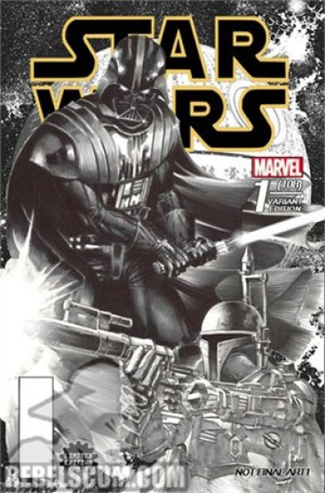Star Wars 1 Mike Deodato Comix sketch