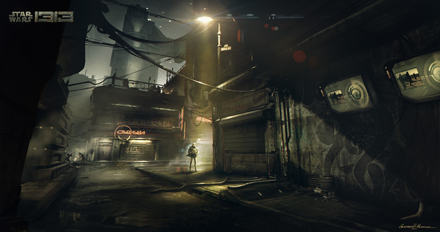 Star Wars 1313 Concept Art 4