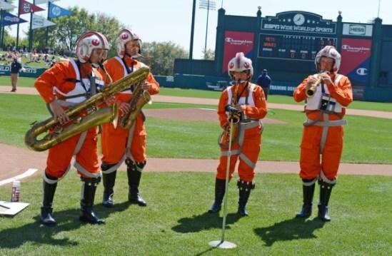 Star Wars-Atlanta Braves spring training (2)