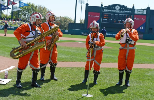 Star Wars-Atlanta Braves spring training (2)