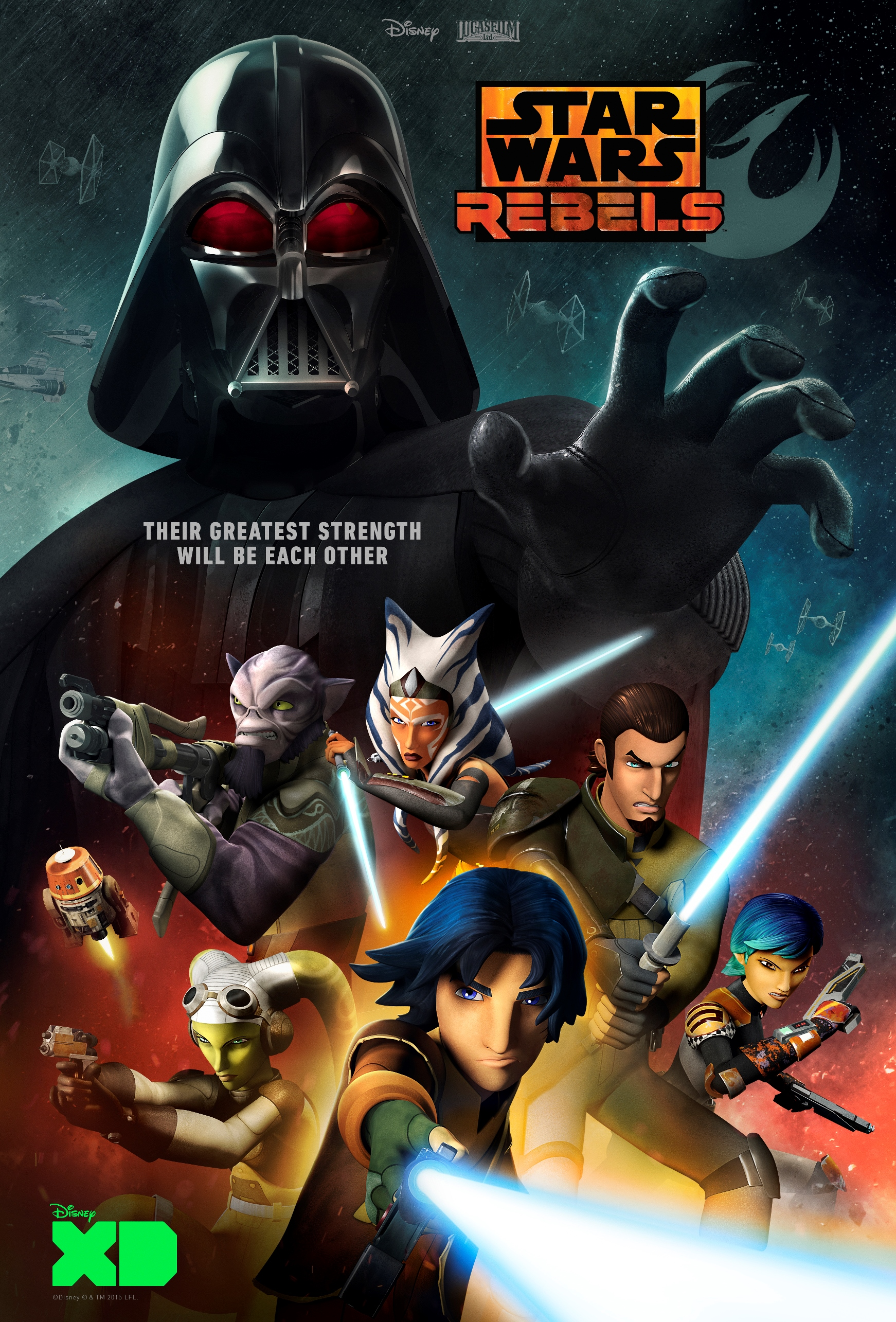Seven Ways to Get Hyped for The Force Awakens Star Wars Rebels Darth Vader Clone Wars Animated Show Ahsoka Disney TV