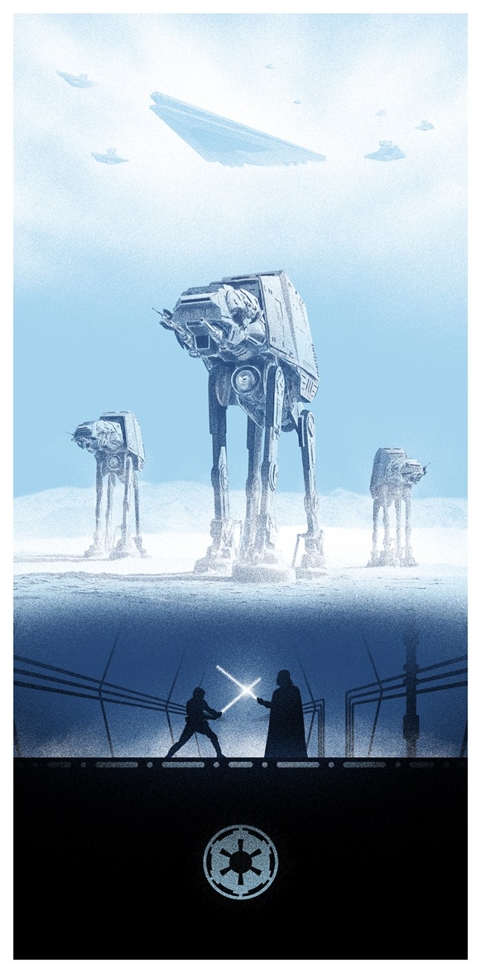 Star Wars The Empire Strikes Back by Marko Manev