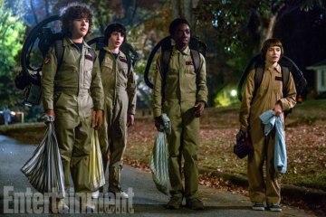 Stranger Things Season 2 - Dustin, Mike, Lucas, Will