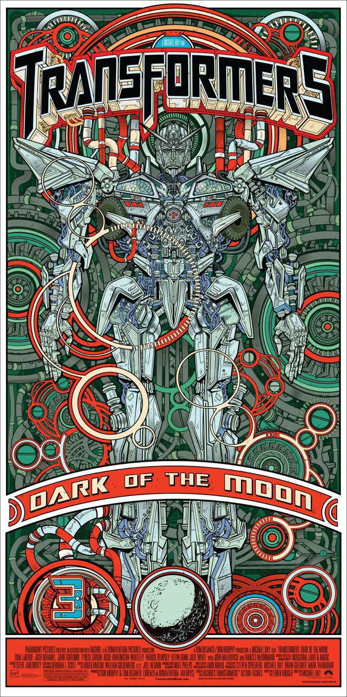 Transformers 3 Green Mondo Regular
