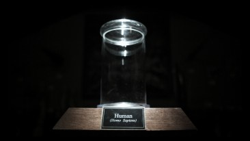 Empty specimen jar from Drafthouse Films' The Final Member. Courtesy of Drafthouse Films.