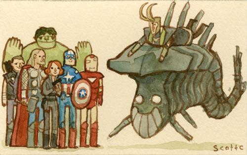 The Avengers - Scott C
