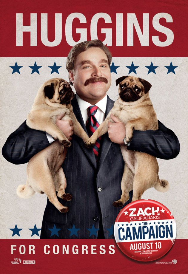 The Campaign Galifianakis poster