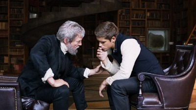 The Giver - Jeff Bridges and Brenton Thwaites (header)