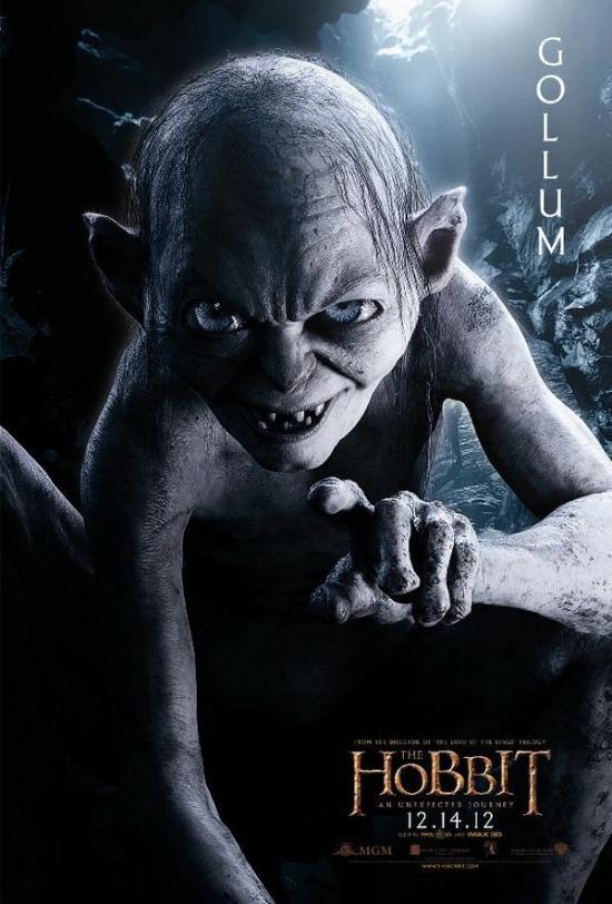 The Hobbit An Unexpected Journey - Gollum